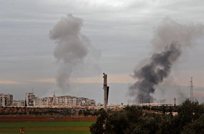 syria, airstrikes, idlib, russia