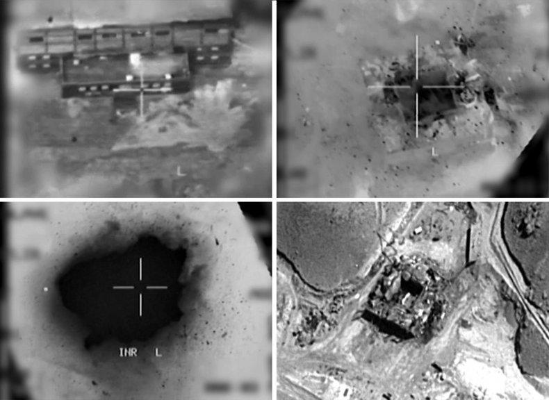 israel, airstrike, syria, nuclear, reactor