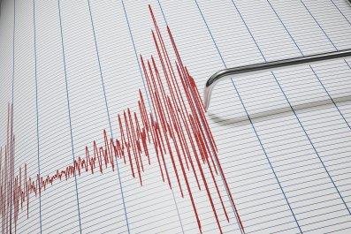Seismic Graph Illustration