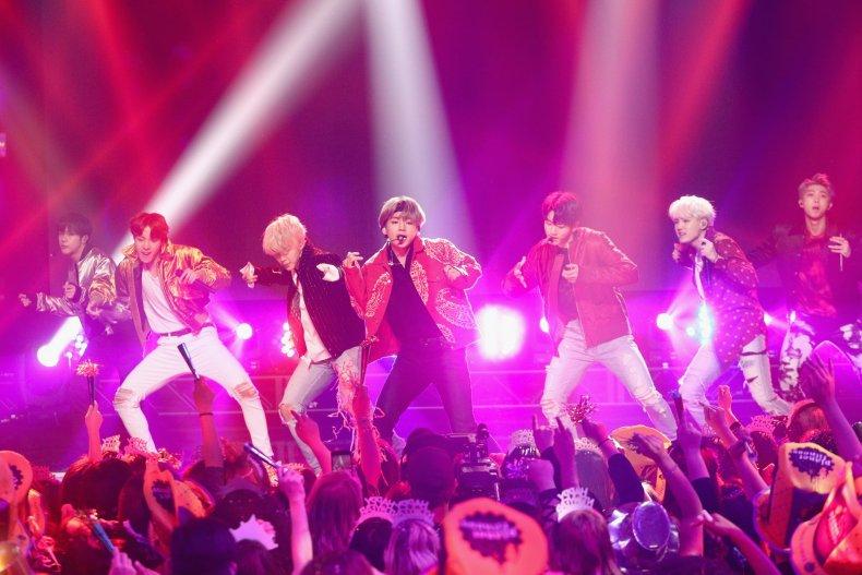 BTS Los Angeles December 2017