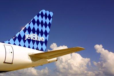 jetblue airplane flight airline