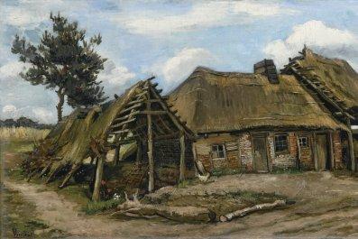 Van Gogh painting Peasant Woman