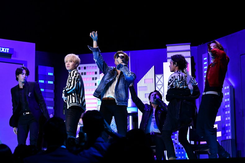 BTS Grammy Awards 2020