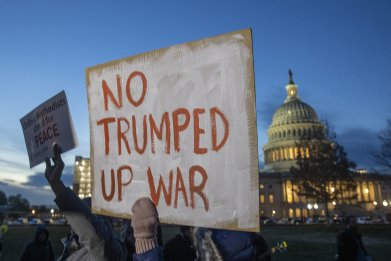 Senate curb Trump Iran War Powers