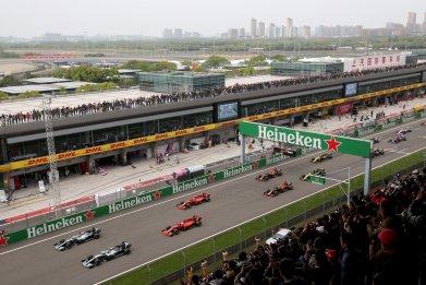 China, Formula One