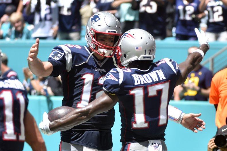 Tom Brady Antonio Brown