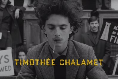 Timothée Chalamet the french dispatch