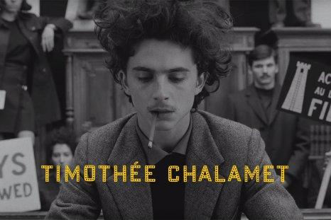 Timothée Chalamet the french dispatch