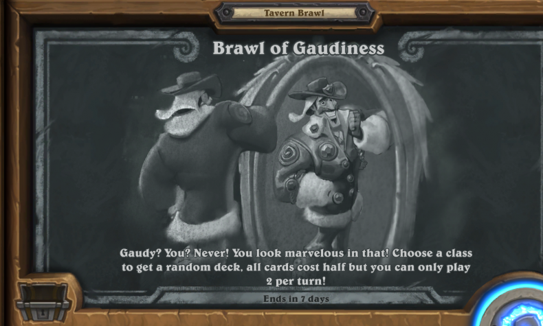 Hearthstone tavern brawl guide gaudiness