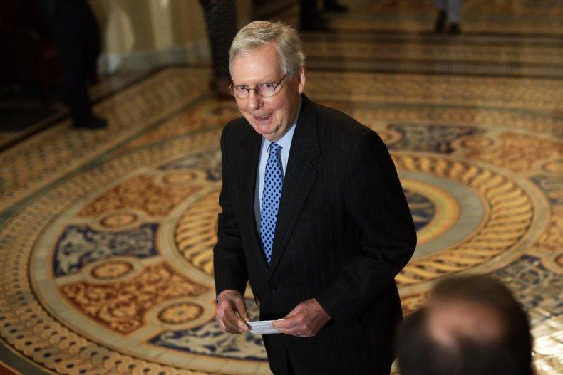 U.S. Senate Majority Leader Sen. Mitch McConnell