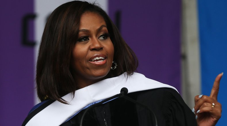 Michelle Obama City College NYC 2016