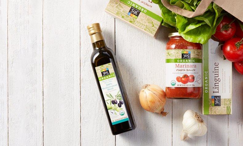 Whole Foods Market 365 Organic Range