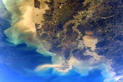 Louisiana from ISS
