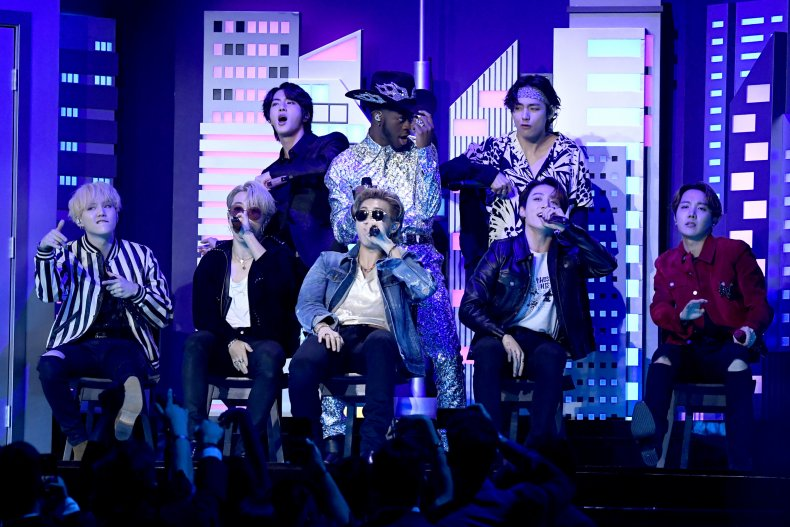 BTS Grammy Awards 2020 Lil Nas X