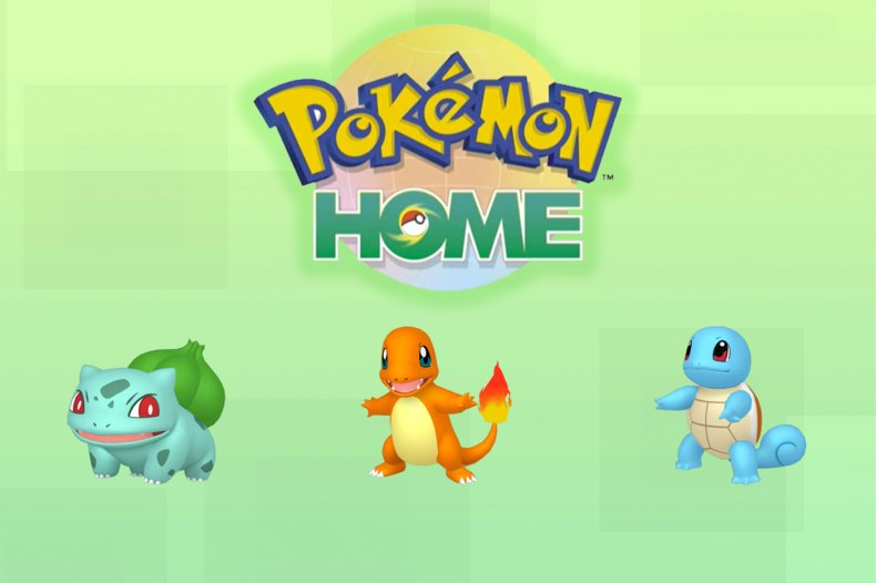 pokemon home kanto starters gift