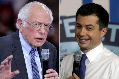 Bernie Sanders and Pete Buttigieg