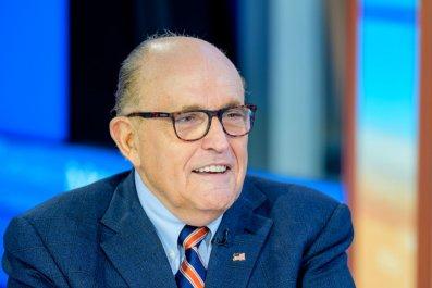 Rudy Giuliani at Fox Business Studio