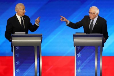 Joe Biden Bernie Sanders 2020 polls