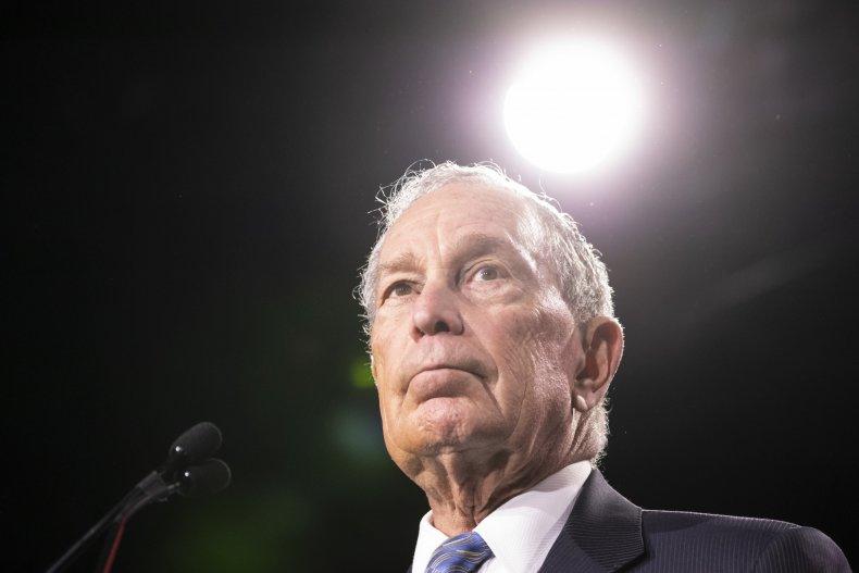 Mike Bloomberg 2020 Trump stop frisk Colbert