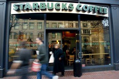 Starbuck San Franciso California 2004