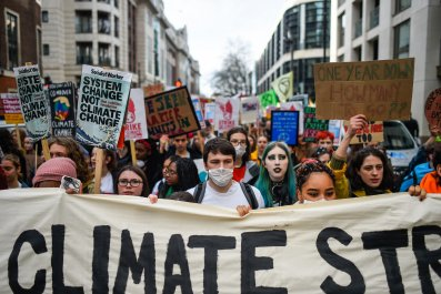 Climate Protest, London