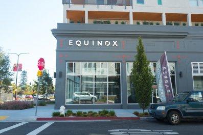 Equinox gym Berkeley California September 2018