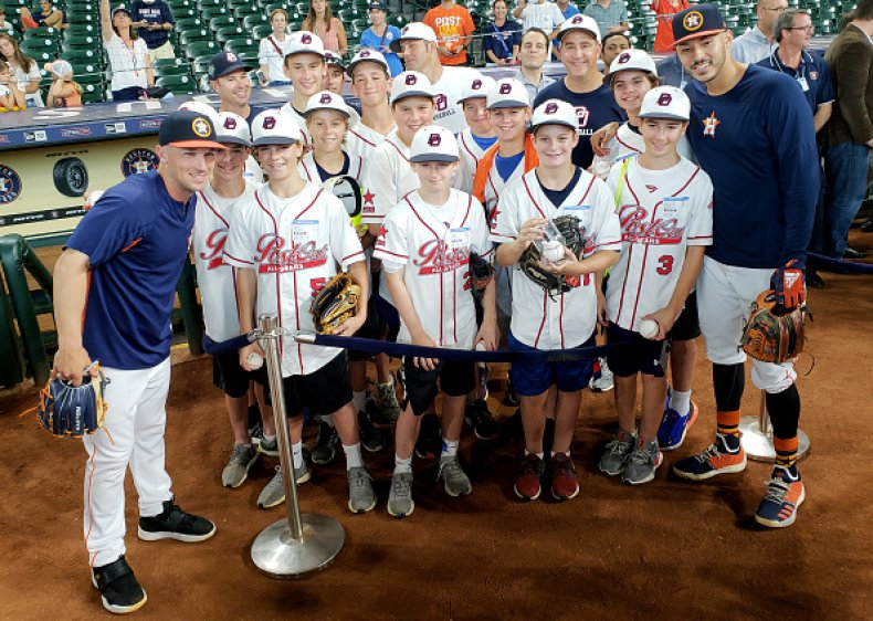 Houston Astros and Little League