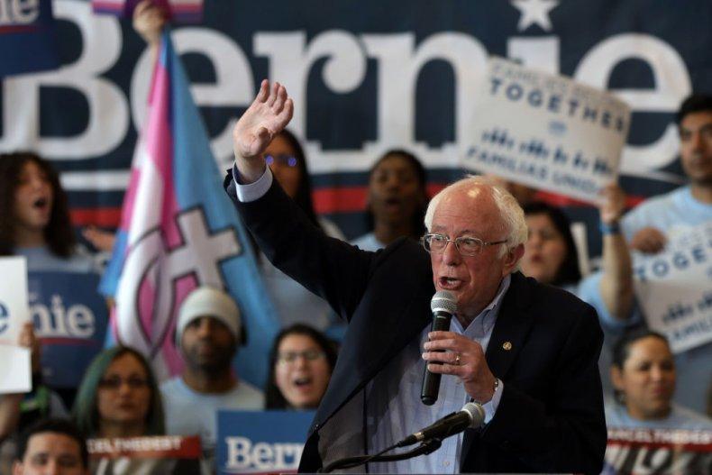 Bernie Sanders at Nevada Rally