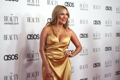 Caroline Flack at The Beauty Awards 2019
