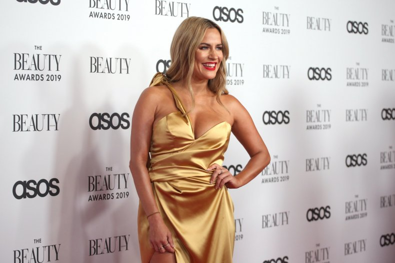 Caroline Flack at The Beauty Awards 2019