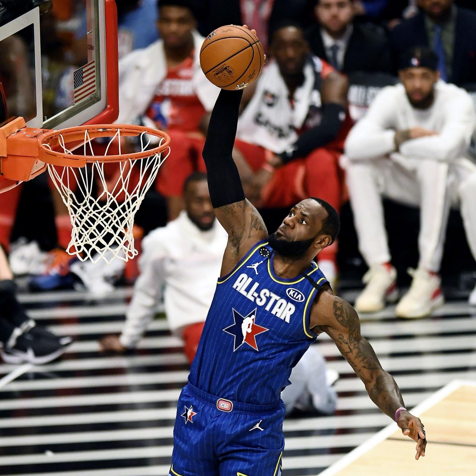 Lebron James Kawhi Leonard Lead Kobe Bryant S Tributes At Nba All