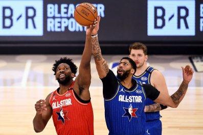Joel Embiid, Anthony Davis, NBA All-Star Game