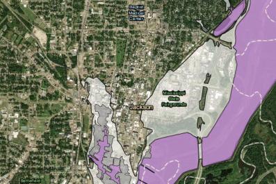 Jackson Pearl River Flood