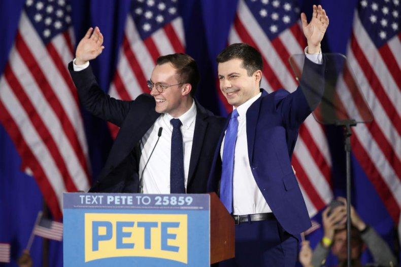 Pete Buttigieg and Chasten