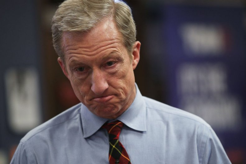 Tom Steyer in Las Vegas, Nevada