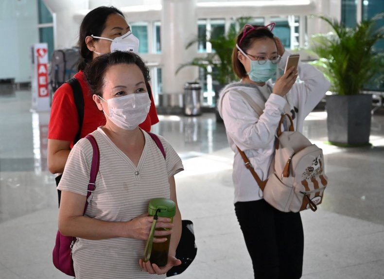 Chinese tourists in Indonesia