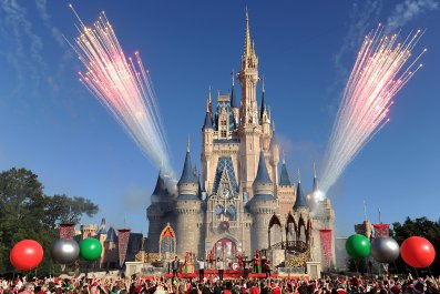 Cinderella Castle,Walt Disney World Resort, Orlando, 2013