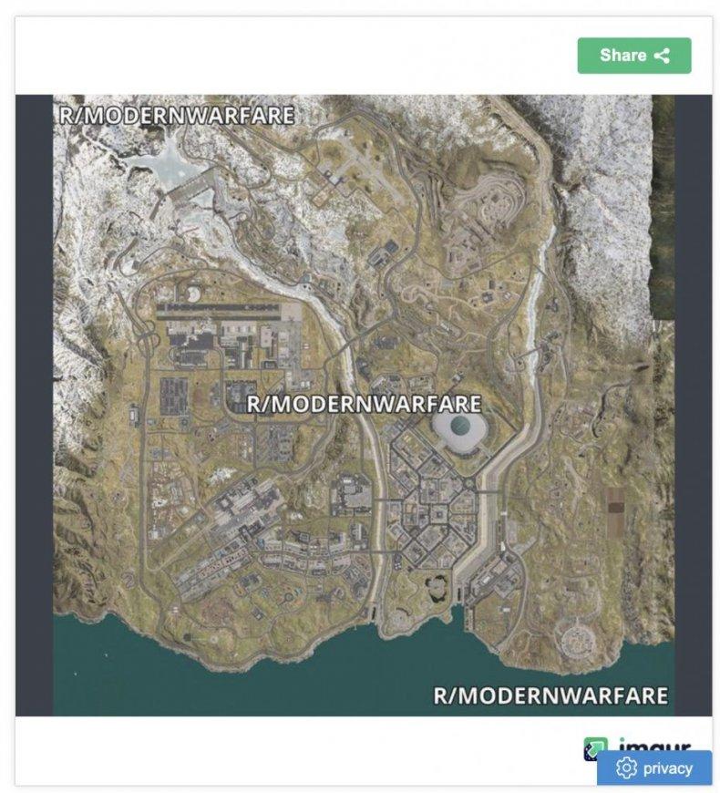 Call Of Duty Modern Warfare Warzone Battle Royale Release Map