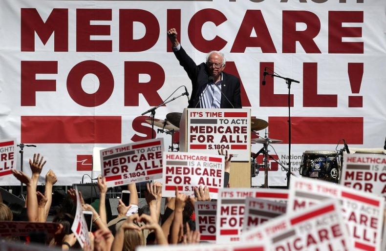 Bernie Sanders Medicare for all