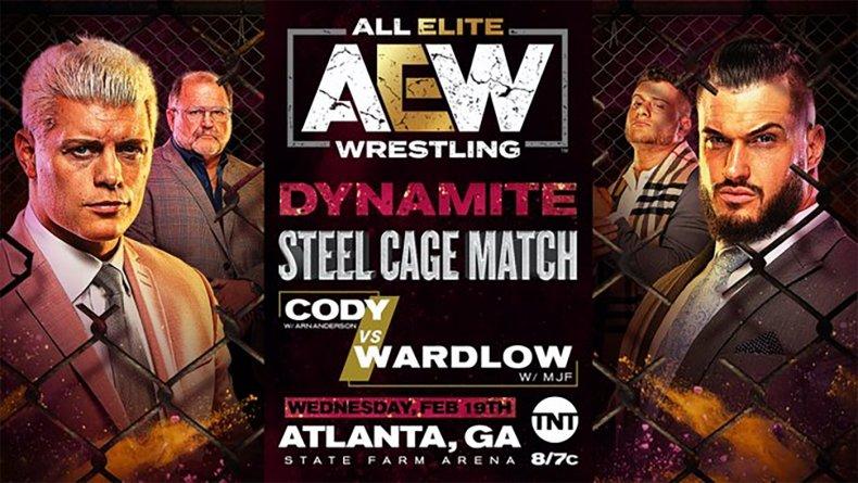 aew dynamite cody rhodes wardlow