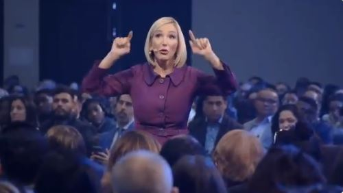 Trump's Spiritual Adviser Paula White appeals to Christians to give to their church before paying mortgages, electric bills