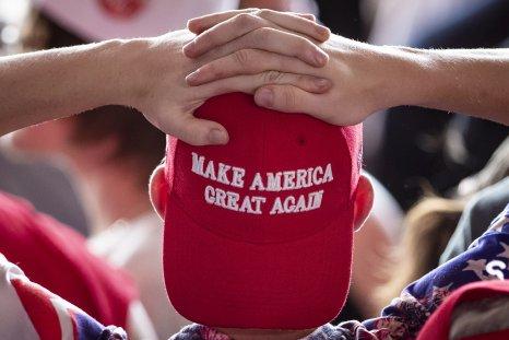Man in MAGA hat