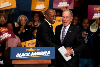 Michael Bloomberg at 'Mike for Black America'