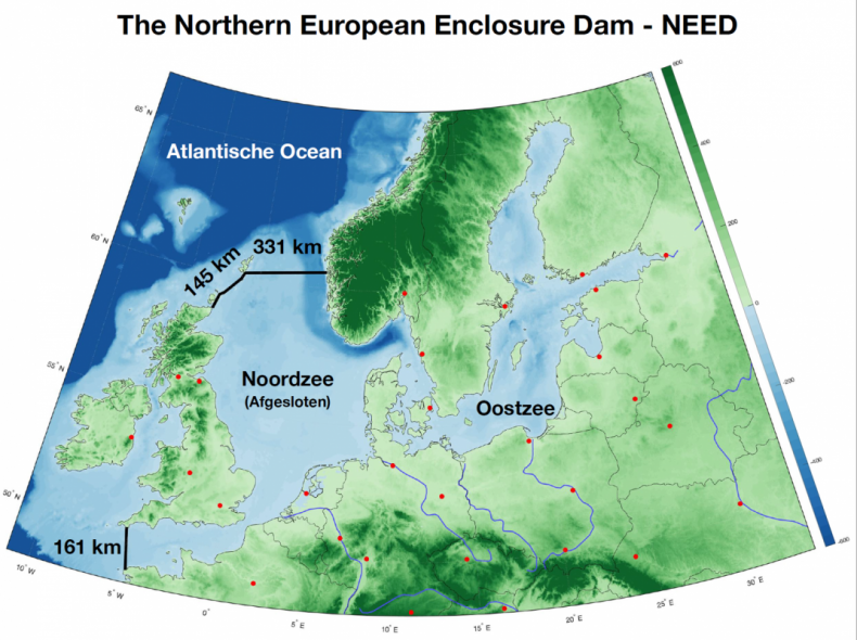 Northern European Enclosure Dam