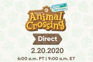 animal crossing new horizons nintendo direct
