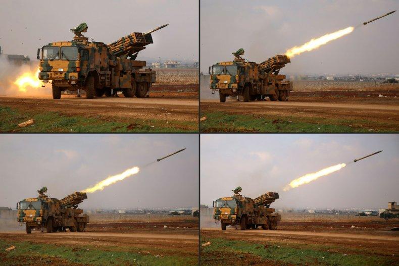 turkey, military, rocket, attack, syria