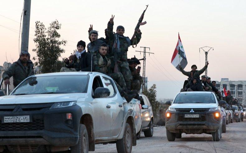 syria, army, aleppo, idlib, advances