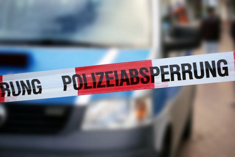 German Police Tape