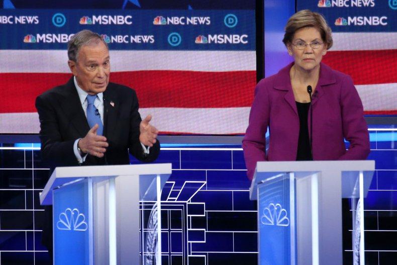 Bloomberg and Warren