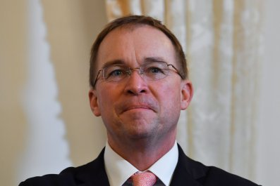 Mick Mulvaney, Donald Trump, Oval Office, deficit